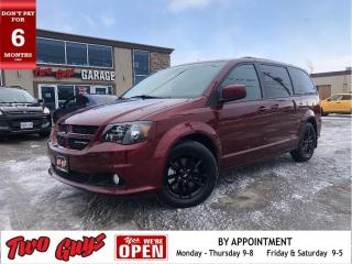 Used 2019 Dodge Grand Caravan GT | Leather | Nav | Pwr Sliders + Liftgate | for sale in St Catharines, ON