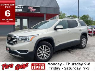 Used 2017 GMC Acadia SLE-2   Panoroof   Htd seats   Bose   6 Pass   Pwr for sale in St Catharines, ON