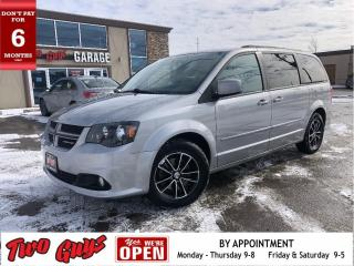 Used 2017 Dodge Grand Caravan GT | Htd Leather | DVD | Nav | Pwr Sliders + Hatch for sale in St Catharines, ON