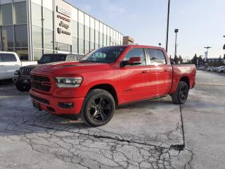 New 2021 RAM 1500 SPORT NAVI LEATHER AND SOUND SUNROOF PWR BOARDS for sale in Pickering, ON