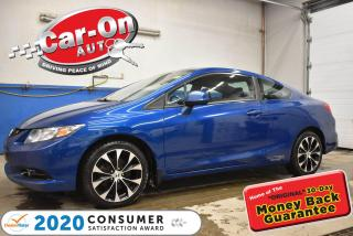 Used 2013 Honda Civic 201 HP Si Coupe | SUNROOF| NAVIGATION for sale in Ottawa, ON