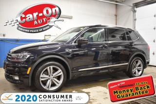 Used 2019 Volkswagen Tiguan HIGHLINE R-LINE + DRIVER ASST | 4MOTION | PANO ROO for sale in Ottawa, ON