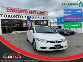 Used 2009 Honda Civic Hybrid 1.3 HYBRD! NO ACCIDENT! ONE OWNER! LOW KM! for sale in Toronto, ON