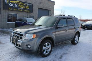Used 2012 Ford Escape Limited / V6 /AWD /NAVI /BACKUP CAMERA /LEATHER /SUNROOF for sale in Newmarket, ON