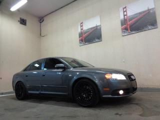 Used 2007 Audi A4 S-LINE  2.0TURBO-HEATED LEATHER-SUNROOF for sale in Edmonton, AB
