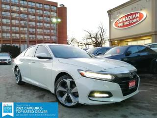 Used 2018 Honda Accord Sedan TOURING PKG | LEATHER | ROOF | NAVI | CAM |4 NEW SNOW TIRES* for sale in Scarborough, ON