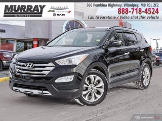 Used 2014 Hyundai Santa Fe Sport AWD 2.0T SE *Local Trade   Leather   Sunroof* for sale in Winnipeg, MB