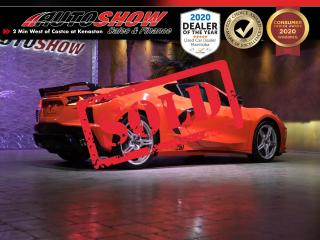 Used 2020 Chevrolet Corvette Z51 *Targa, Magnetic Ride, Exhaust!* AS NEW for sale in Winnipeg, MB