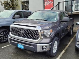 Used 2018 Toyota Tundra 4x4 Dbl Cab SR5 Plus 5.7 6A for sale in Port Moody, BC