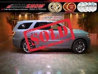 Used 2020 Dodge Durango 5.7L HEMI R/T - DVD x2, Nav, S.Roof, Htd Lthr for sale in Winnipeg, MB
