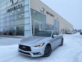 Used 2017 Infiniti Q60 CPO, ACCIDENT FREE for sale in Edmonton, AB