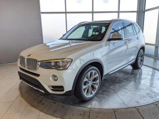 Used 2015 BMW X3 Premium PKG Enhanced   Local, 1 Owner, No Accidents for sale in Edmonton, AB