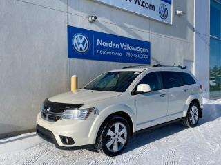 Used 2013 Dodge Journey R/T AWD - HTD LEATHER SEATS / BACKUP CAM / BLUETOOTH for sale in Edmonton, AB