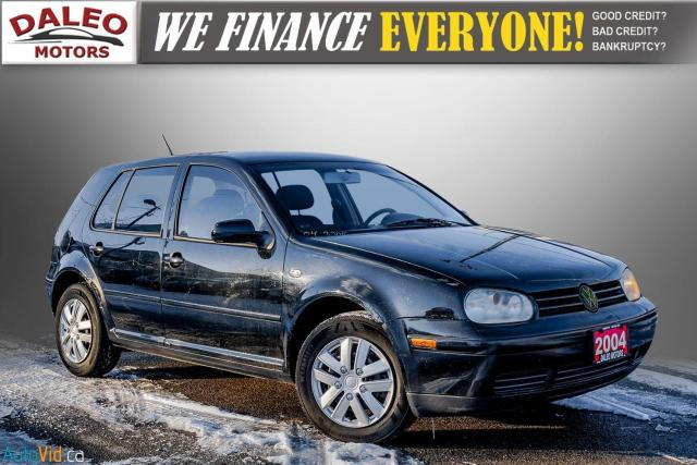 2004 Volkswagen Golf GLS / BUCKET SEATS / HEATED SEATS /