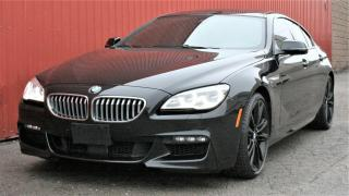 Used 2017 BMW 6 Series 650i xDrive Grand Coupe   LOADED for sale in Brantford, ON