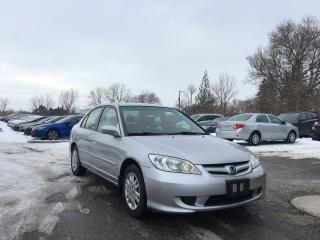 Used 2004 Honda Civic LX for sale in London, ON