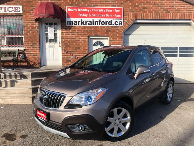 2015 Buick Encore Premium Back Up Cam Heated Leather Remote Start
