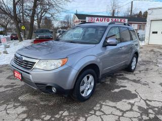 Used 2010 Subaru Forester AWD/Automatic/PanoRoof/Htd Seats/Comes Certified for sale in Scarborough, ON