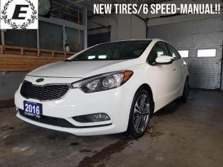 Used 2016 Kia Forte EX GDI/NEW TIRES/6-SPEED MANUAL!! for sale in Barrie, ON