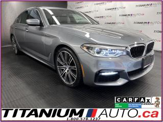 Used 2017 BMW 5 Series M-PKG+Driving Assistance+Surround View Camera+HUD for sale in London, ON