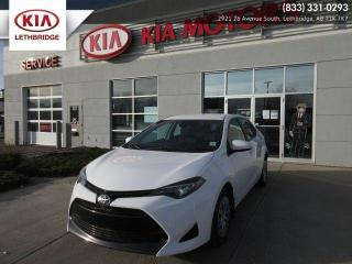 Used 2018 Toyota Corolla LE for sale in Lethbridge, AB