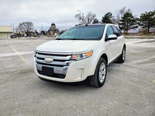 Used 2012 Ford Edge ALL WHEEL DRIVE, REAR CAMERA, SUNROOF, CERTIFIED for sale in Mississauga, ON