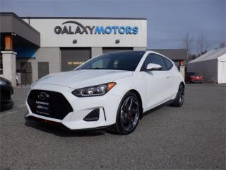 Used 2019 Hyundai Veloster TURBO- NAV, LEATHER,MOONROOF for sale in Duncan, BC