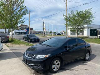 Used 2015 Honda Civic LX for sale in Toronto, ON