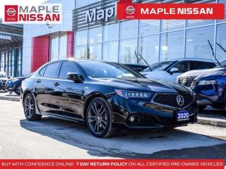 Used 2020 Acura TLX 3.5L AWD Navi Leather Apple Carplay Remotestart for sale in Maple, ON