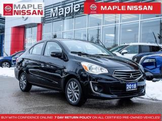 Used 2018 Mitsubishi Mirage G4 GT Heated Seats Backup Camera Apple Carplay for sale in Maple, ON