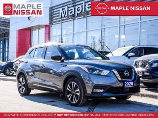 Used 2020 Nissan Kicks SR Apple Carplay Leather 360 Cam Remote Starter for sale in Maple, ON
