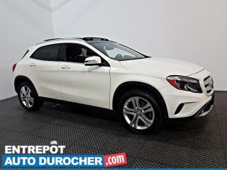 Used 2017 Mercedes-Benz GLA 250 AWD NAVIGATION - SIÈGES CHAUFFANTS - CUIR for sale in Laval, QC