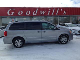 Used 2016 Dodge Grand Caravan CLEAN CARFAX! RARE TAN INTERIOR! POWER SEAT! for sale in Aylmer, ON