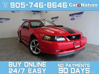 Used 2003 Ford Mustang MACH 1 | 1 OWNER | SHOWROOM CONDITION |VERY RARE! for sale in Brantford, ON