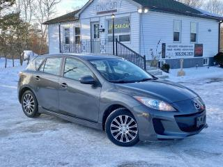 Used 2012 Mazda MAZDA3 No-Accidents Sport GS-SKY Bluetooth Heated Seats Power Group for sale in Sutton, ON
