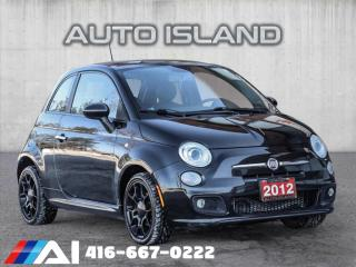 Used 2012 Fiat 500 SPORT**5SPD**SUNROOF**LOW KMS for sale in North York, ON