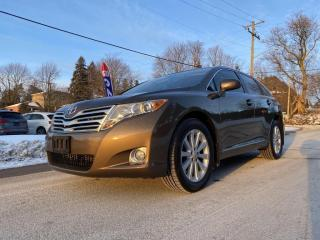 Used 2011 Toyota Venza AWD, Leather, Sunroof, Rear Cam, Bluetooth, Acc Free for sale in King City, ON