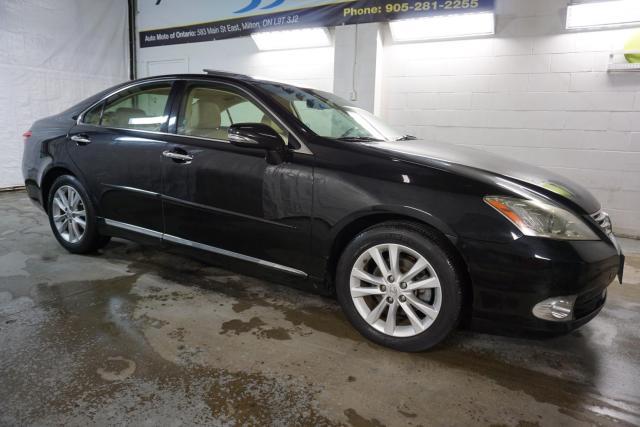 2012 Lexus ES 350 LUXURY PKG NAVI CAMERA CERTIFIED 2YR WARRANTY SUNROOF BLUETOOTH HEATED MEMORY LEATHER ALLOYS