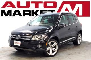 Used 2014 Volkswagen Tiguan RLine Certified! Leather! We Approve All Credit! for sale in Guelph, ON