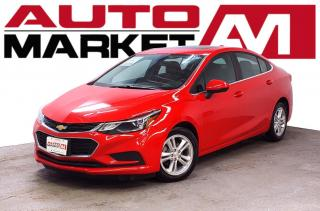 Used 2016 Chevrolet Cruze LT Certified! Sunroof! We Approve All Credit! for sale in Guelph, ON