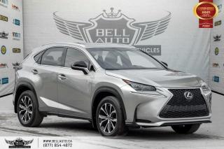 Used 2017 Lexus NX 200t NO ACCIDENTS, AWD, FSPORT, NAVI, REAR CAM, SUNROOF, RED INT for sale in Toronto, ON
