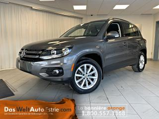 Used 2017 Volkswagen Tiguan 4Motion Wolfsburg Edition for sale in Sherbrooke, QC