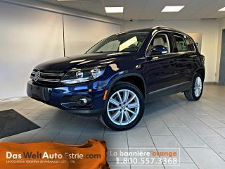 Used 2017 Volkswagen Tiguan 4MOTION  Comfortline- BAS KILOMETRE for sale in Sherbrooke, QC
