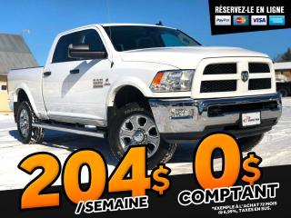 Used 2018 RAM 2500 OUTDOORSMAN CREW CAB 4X4 V6 CYL 6.7L DIE for sale in St-Malachie, QC