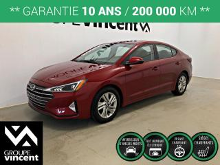 Used 2020 Hyundai Elantra PREFERRED SUN & SAFETY ** GARANTIE 10 ANS ** Occasion à saisir! Récent et à bas kilométrage! for sale in Shawinigan, QC