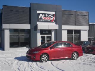 Used 2012 Toyota Corolla Vendu, sold merci for sale in Sherbrooke, QC