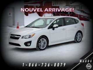 Used 2012 Subaru Impreza 2.0i LIMITED + AWD + CUIR + TOIT! for sale in Magog, QC