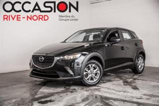 Used 2017 Mazda CX-3 GS AWD MAGS+CAM.RECUL+SIEGES.CHAUFFANTS for sale in Boisbriand, QC