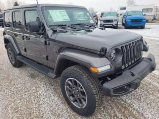 New 2021 Jeep Wrangler Unlimited Sahara 80th Anniversary for sale in Medicine Hat, AB