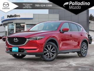 Used 2017 Mazda CX-5 GT - BACK UP CAM, HEATED SEATS, NAVI & POWER LIFT GATE for sale in Sudbury, ON